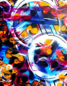 graphic art, christine's mod art. colorful, red, green, black, art, contemporary, abstract, urbanart, modern, ARTWORK